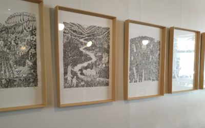 Nouvelle exposition – Franck Moinard au Bam Bam Café