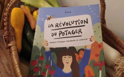 Béné en dédicace à Nantes pour La révolution du potager